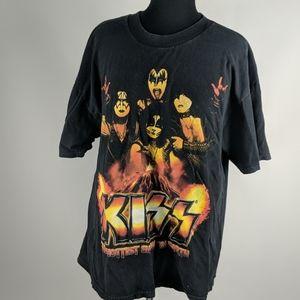 KISS 2011 Concert Tee Size XL